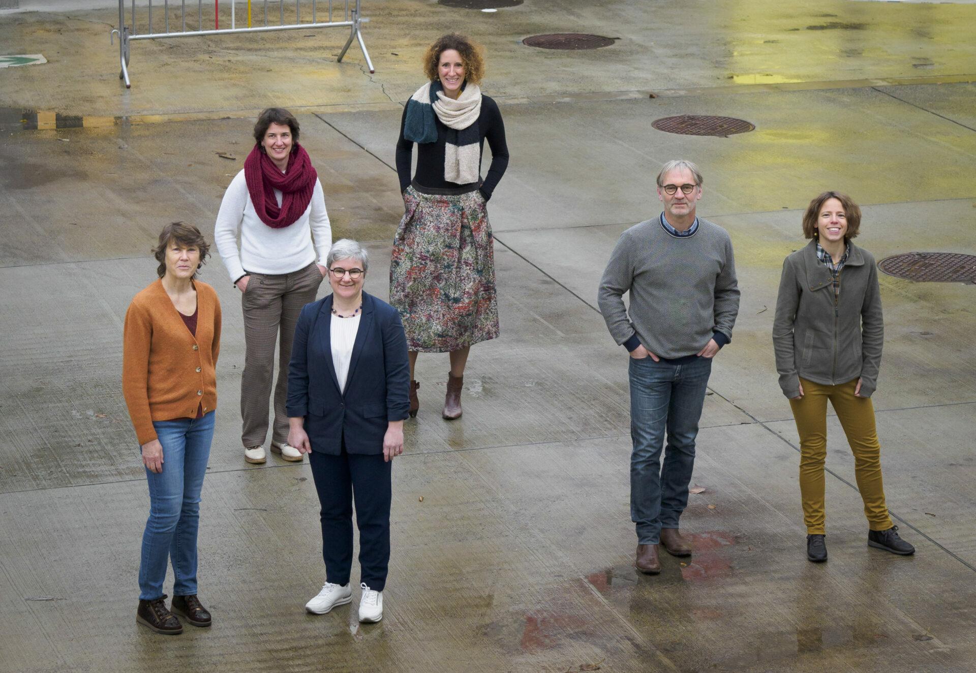 Teamfoto bestuurders Sportwijk